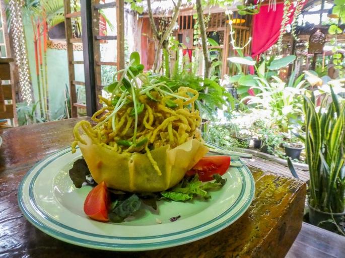 Kao Soi Salad at Om Garden Kitchen