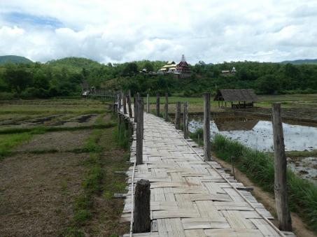 Bamboo Bridge near Mae Hong Son