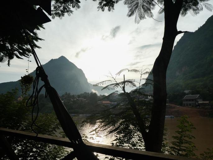 Hammock view Nong Khiaw