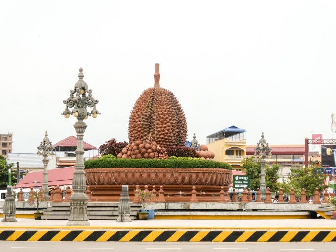Kampot Durian Roundabout