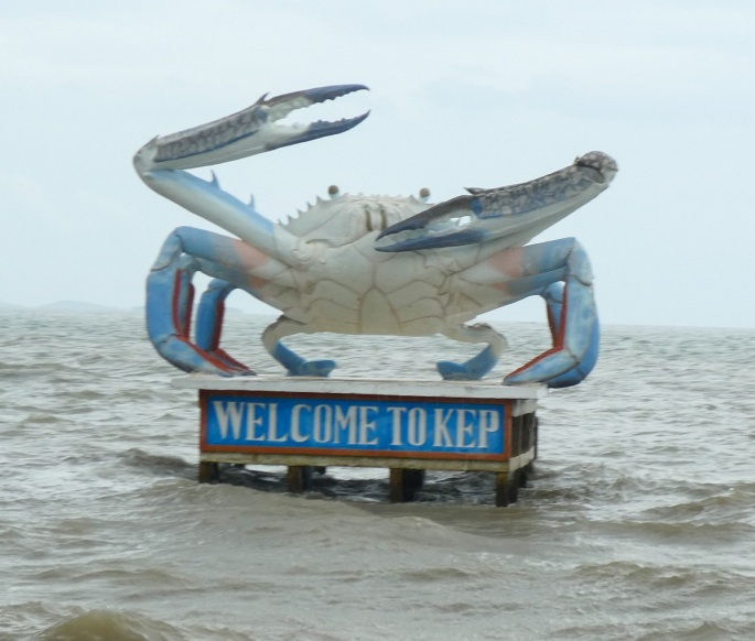 Kep Crab monument